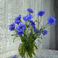 Синенький,скромный букетик... :: ЛЮБОВЬ ВИТТ