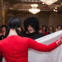 джигит и красавица :: Батик Табуев