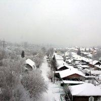 Снг на крышах :: Олег Афанасьевич Сергеев