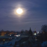 Огни ночного Велижа. :: Елена Струкова