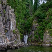 Водопад Киште.Телецкое озеро :: Юрий Харченко