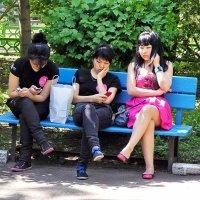 Девчата с нашего двора :: Сергей Беличев