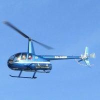 В синем небе синий вертолет :: Galaelina ***