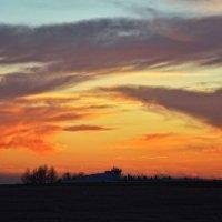 закат на Куликовом Поле :: Андрей Пахомов
