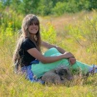 Отдых на траве :: Мила Раменская (Забота)