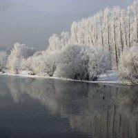 Зима на Ангаре :: Александр С