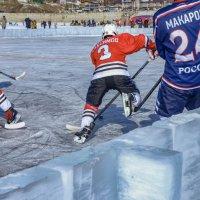 хоккей на Байкале :: Дарья Молчанова