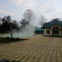 Открытый бассейн с термальной водой :: alexeevairina .