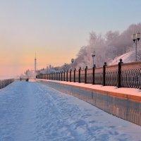 Морозное утро марта :: Татьяна Каневская