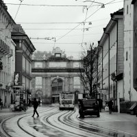 Осень..Иннсбрук.. Дождь.. :: Эдвард Фогель