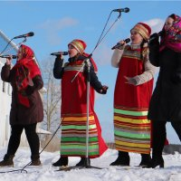 Поют на морозе... :: Александр Широнин