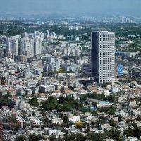Тель Авив, вид с 49-го этажа башни Азриэли :: Надя Кушнир