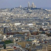 Париж. Вид на холм Монмартр :: Ольга Довженко