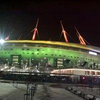 Стадион вечером :: Митя Дмитрий Митя