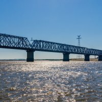 Мост через Амур. :: Виктор Иванович
