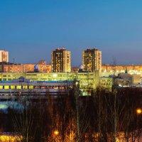 Вид на Ижевск из больничного окна :: Владимир Максимов