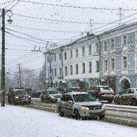 Снегопад в марте :: Dimirtyi