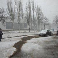 В марте мело... :: Владимир Лищук (Vladimir Li)