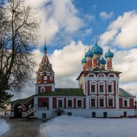 Церковь Димитрия на Крови в угличском кремле :: jenia77 Миронюк Женя