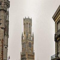 Брюгге. Прогулка по городу. Башня Белфорт. :: Надежда Лаптева