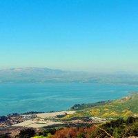 Тивериа́дское озеро, Галиле́йское море, Геннисаре́тское озеро, озеро Кине́рет :: Гала