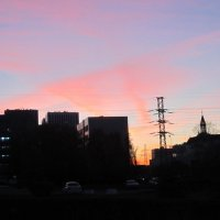 Закат над Москвой :: Дмитрий Никитин