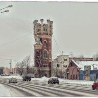 Бывшая пристрельная башня Обуховского завода. :: Григорий Евдокимов