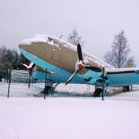 Ладожское озеро (Осиновец). ЛИ-2 в музее Дорога Жизни :: Сергей Никитин