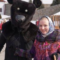 Маша и Медведь :: Наталия Григорьева