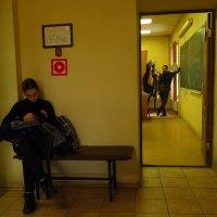 А через четверть часа - наш урок :: Андрей Лукьянов
