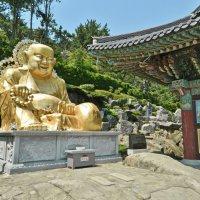 Статуя Будды в храме Хедон Йонгун :: Андрей K.