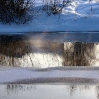 Над водой заклубился парок... :: Нэля Лысенко