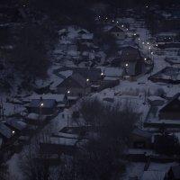 Деревня зимним утром :: Артур