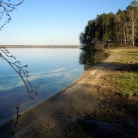 Тихий вечер на озере :: Анна Суханова