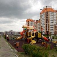 Новый микрорайон в г Хабаровсе :: Николай Сапегин