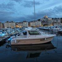 Вечер в марсельском порту :: Nina Karyuk