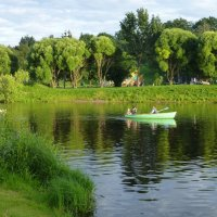 На реке Пскове :: Лидия Бусурина