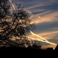 Следы на небе :: Heinz Thorns