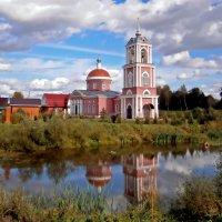 Георгиевская церковь села Алешино :: Ольга Довженко