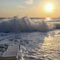 Море волнуется :: Светлана Карнаух