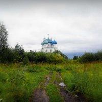 Пейзаж с Храмом :: ИгорьОк Бородин