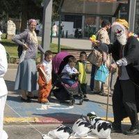 На улицах Реховота - Праздник Пурим! :: Aleks Ashkenazi