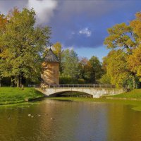 Осенняя идиллия у Пиль-Башни... :: Sergey Gordoff