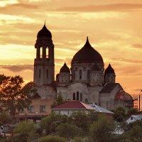 Боровск. Покровский собор на закате :: Сергей Никитин