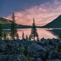 Нижнее Мультинское озеро :: Юрий Никитенко