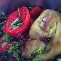 Встреча двух друзей-овощей-зaгадочные чудики. :: Mila .