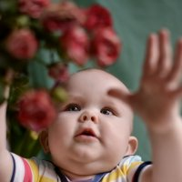 Мои первые цветы.. :: Зинаида Манушкина