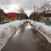 Весна на дачных улочках... :: Андрей Дурапов