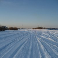 Снегоходы порезвились :: Anna Ivanova