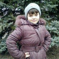Катя и Даша на прогулке)) :: Алексей Кузнецов